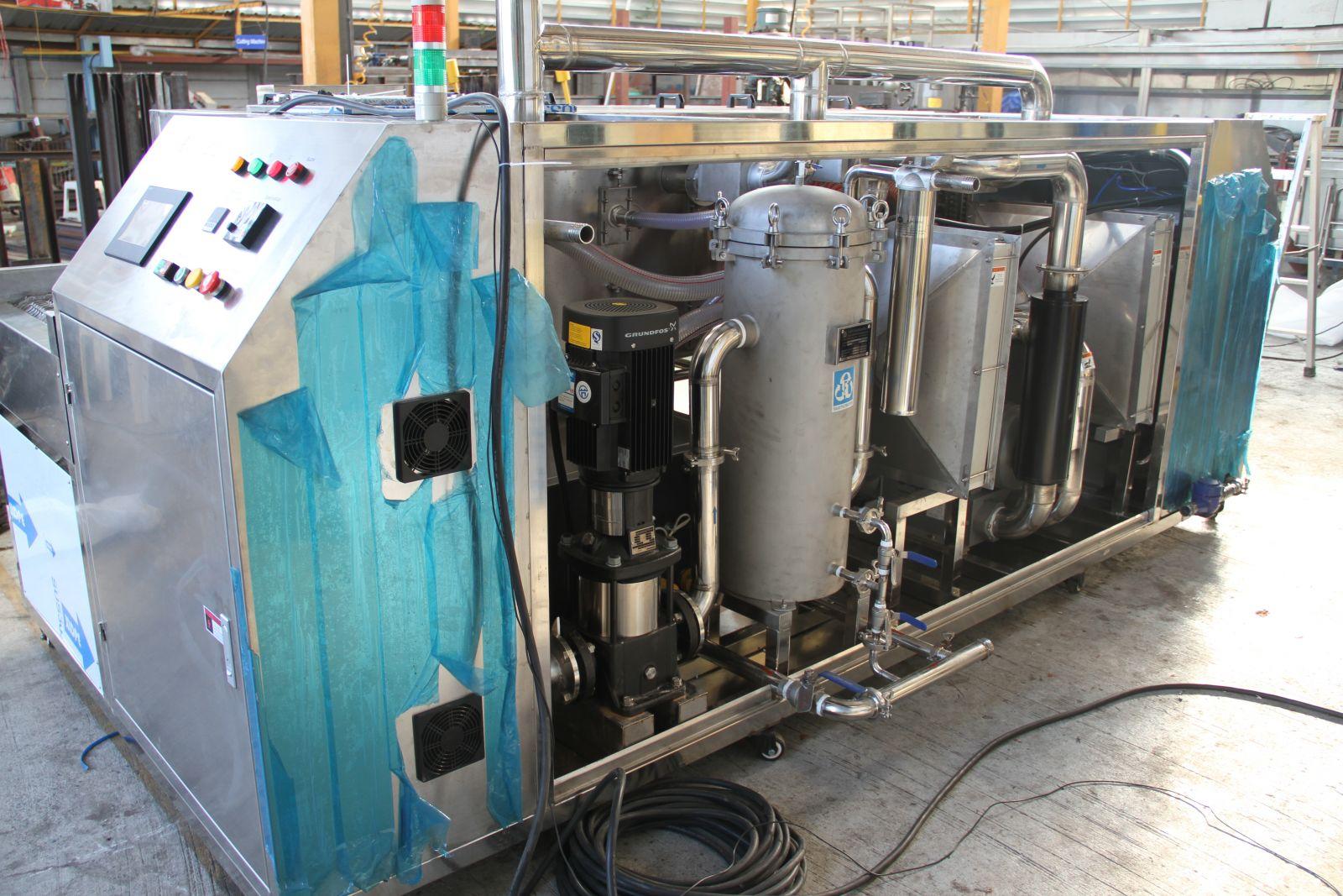 ผลิตเครื่องล้างแบบสายพาน Washing machine 2 C.I.Engineering