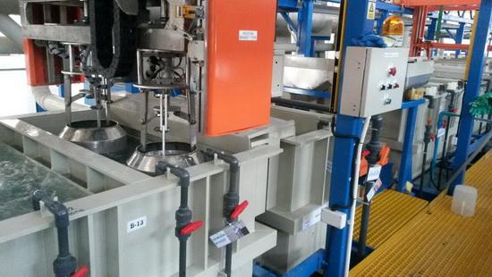 Zinc Plating Line รับสร้างไลน์ชุบโลหะ และอุปกรณ์ในไลน์